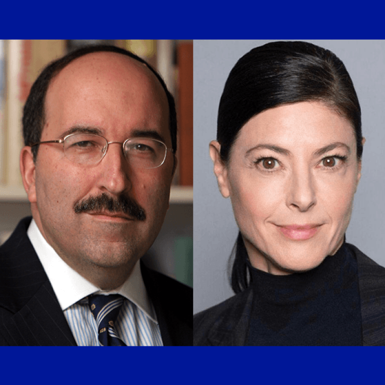 Dr. Dore Gold and Member of Knesset Merav Michaeli