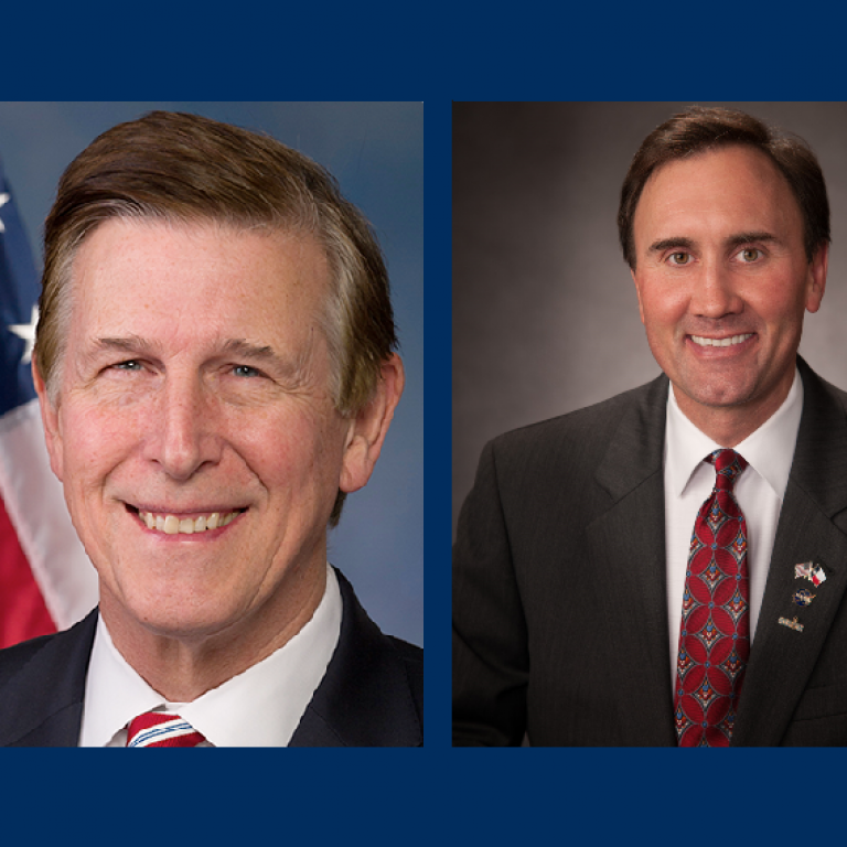 Representatives Don Beyer (D-VA) and Pete Olson (R-TX)