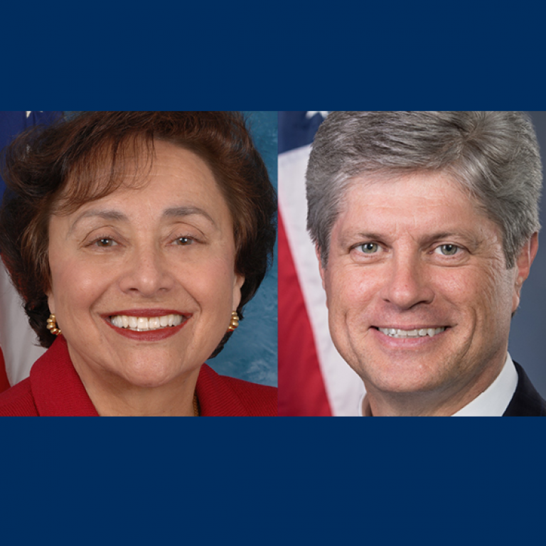 Congresswoman Nita Lowey (D-NY) and Congressman Jeff Fortenberry (R-NE)