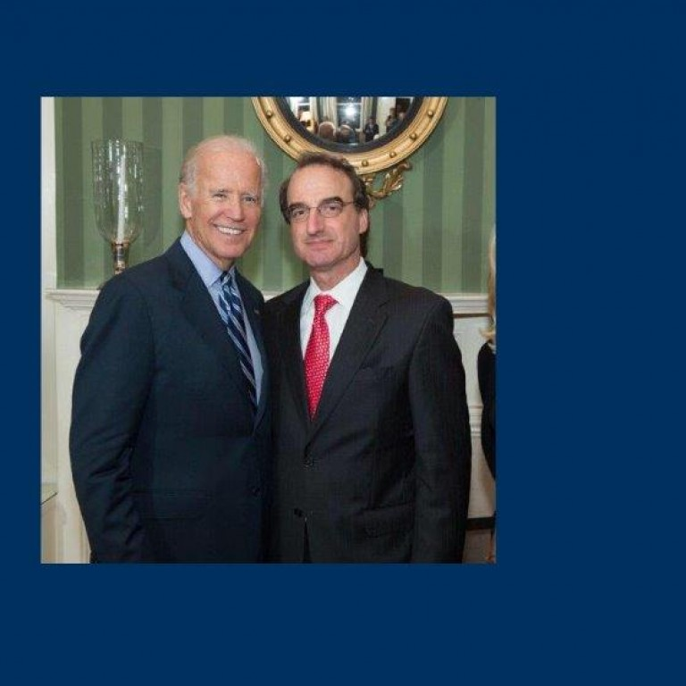 Jason Isaacson with Then-Vice President Biden
