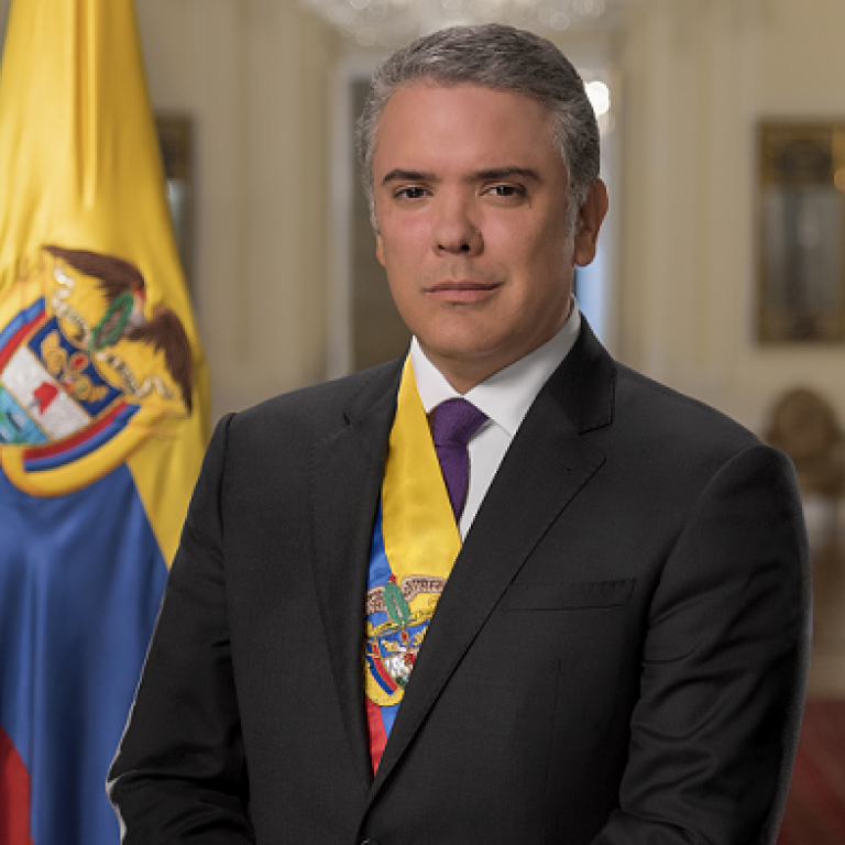 Iván Duque Márquez, President of Colombia