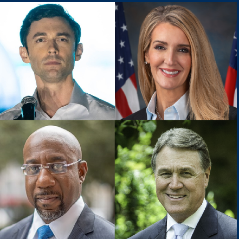 Georgia Runoff Elections and Tackling Hate in America; Jon Ossoff; Raphael Warnock; David Perdue; Kelly Loeffler 2