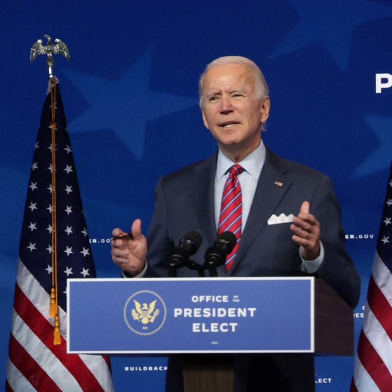 President-elect Joe Biden addresses the country.