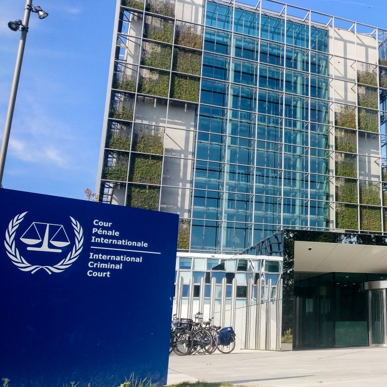 Photo of the International Criminal Court at the Hague