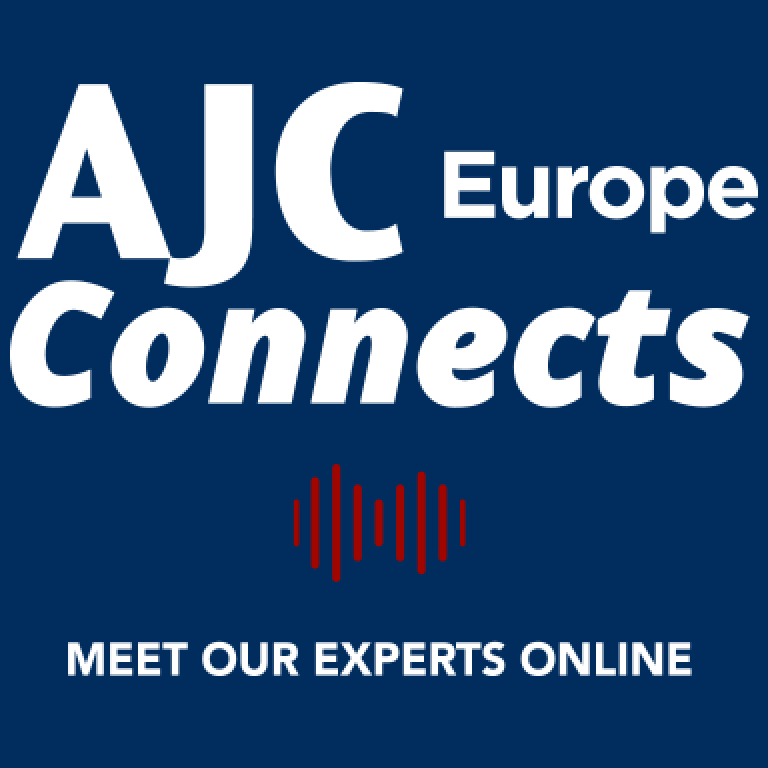 AJC Europe Connects logo