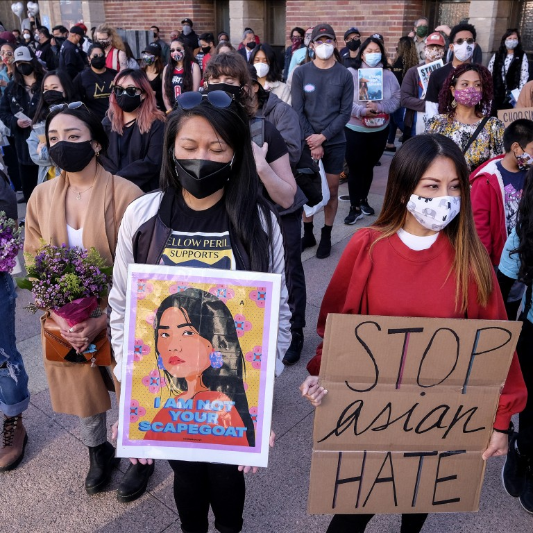 Anti-Asian Hate Crimes Protest