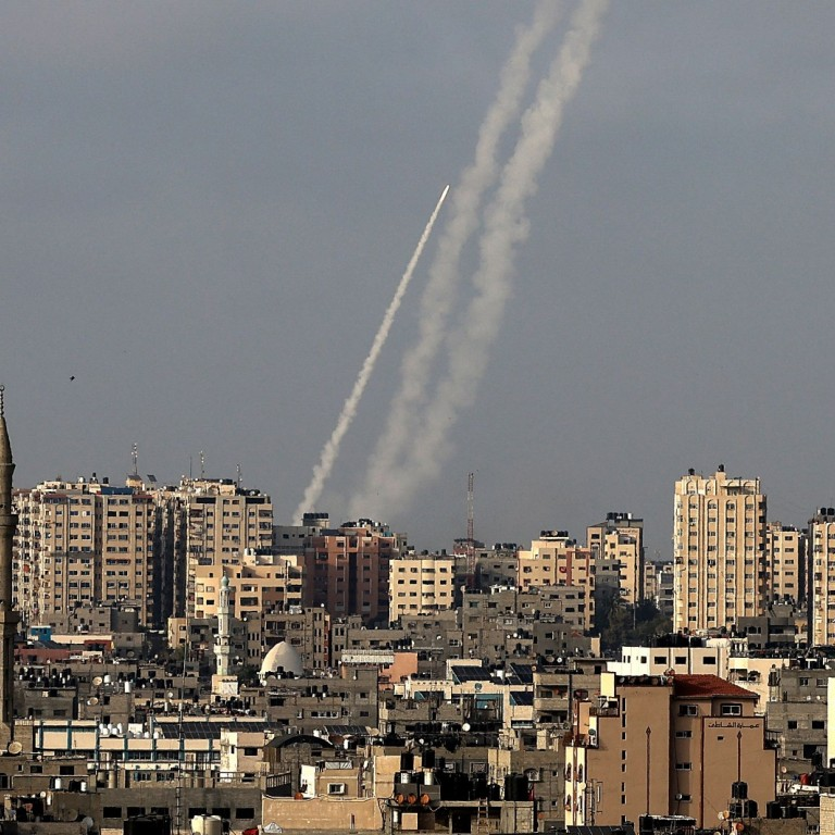 Missiles fired toward Israel from Gaza