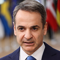 Photo of Prime Minister Kyriakos Mitsotakis