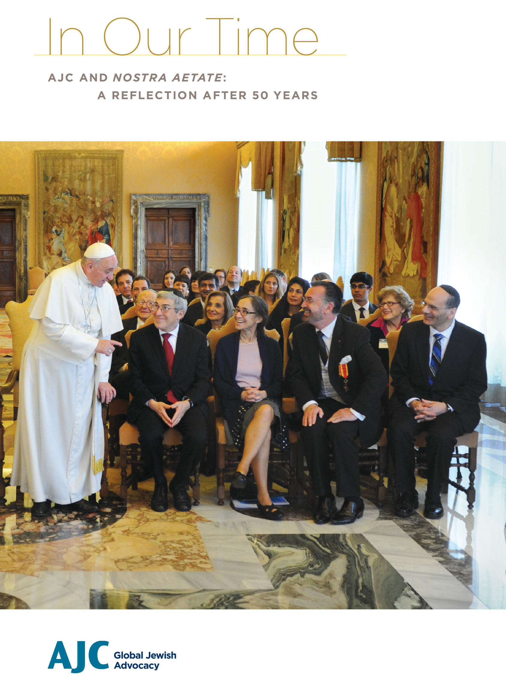 Cover of PDF - In Our Time - AJC and Nostra Aetate: A Reflection After 50 Years